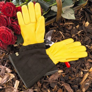 Gold Leaf 'Tough Touch' Gardening Gloves