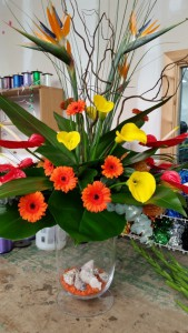Flowers from Longacres's Floristry Department