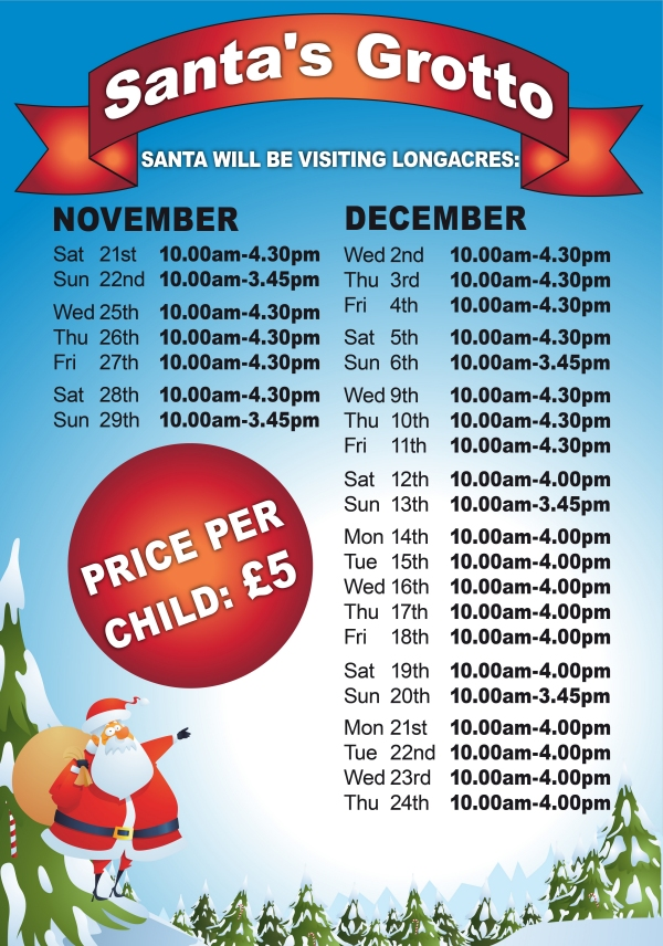 Grotto Opening Times Bagshot