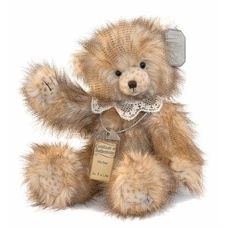 Silver Tag Teddy Bears - Mia Bear (17062)