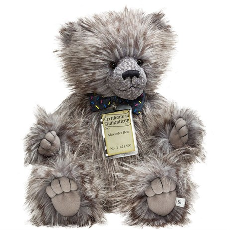 Silver Tag Teddy Bears - Alexander Bear (17112)