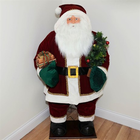 Inflatable Standing Santa with Lights & Music - 60 Inch (XM-A6184)