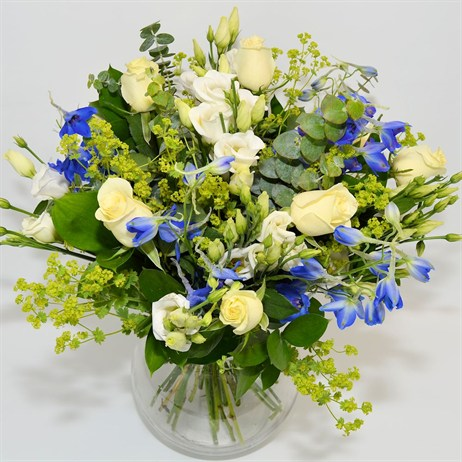 Baby Boy Country Hand Tied Bouquet