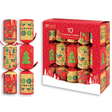 Tom Smith Giftmaker Faux Kraft Icon Crackers - 10 x 8 Inch  (XAFGS203)