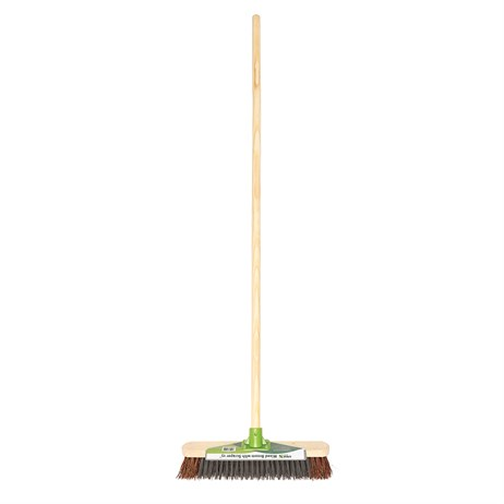 Crest Garden 15in Mixed Broom with Scraper (50540020)