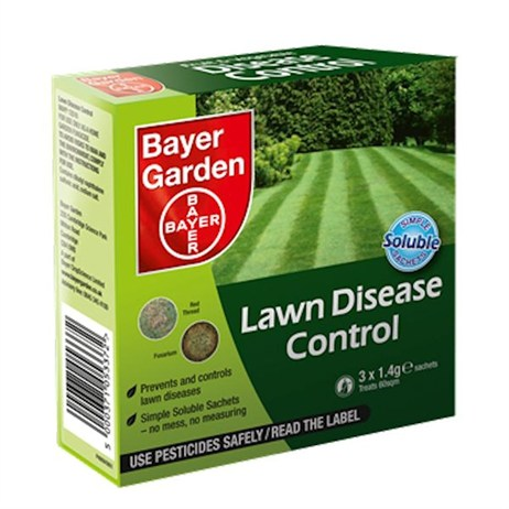 Bayer Lawn Disease Control Soluble Sachets (treats 60sqm) (79476019)