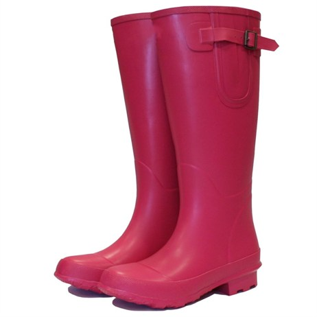 Town and Country Bosworth Wellington Boots - Raspberry