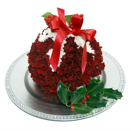 Christmas Pudding Festive Arrangement