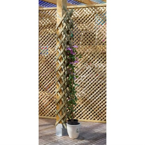 Zest 4 Leisure Pipe/Post Trellis (2 Pack) (DIRECT DISPATCH)