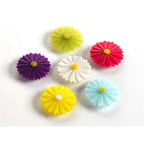 Charles Viancin Daisy Drink Markers (Set of 6) (6001)