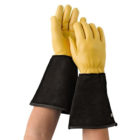 Gold Leaf Tough Touch Gloves Ladies