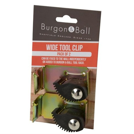 Burgon & Ball Wide Tool Clip (GTM/WIDE2CLIP)
