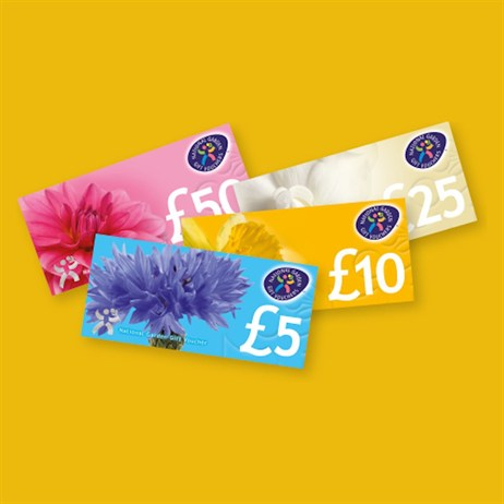 HTA £10 National Garden Gift Voucher
