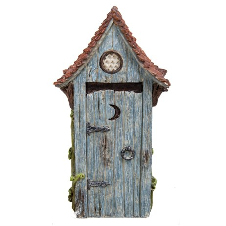 Vivid Miniature World Outhouse Blue (MW02-001)