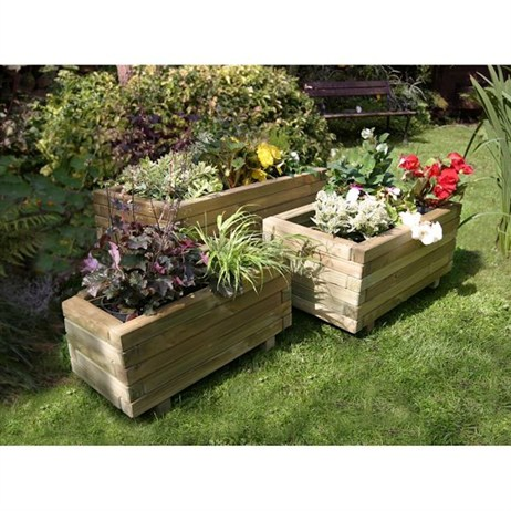 Zest 4 Leisure Gresford Planter Set of 3 (2 Pack) (DIRECT DISPATCH)