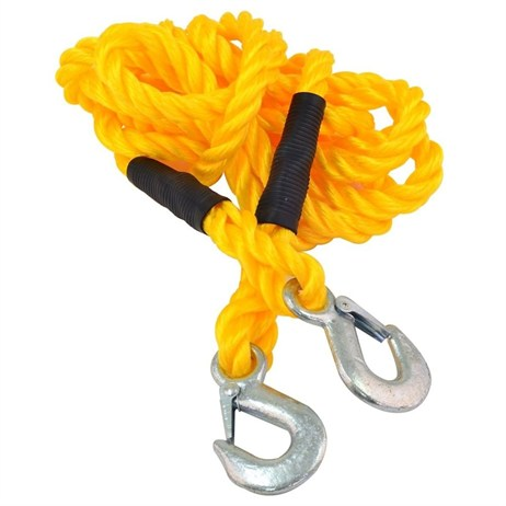 Rolson Tow Rope 4m (1000kg Capacity) (42915)