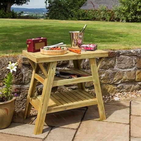 Zest 4 Leisure BBQ Side Table (DIRECT DISPATCH)