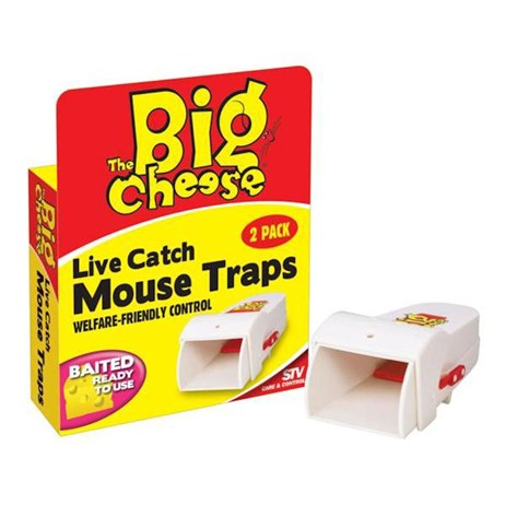 STV Live Catch Mouse Traps Twinpack (STV155)