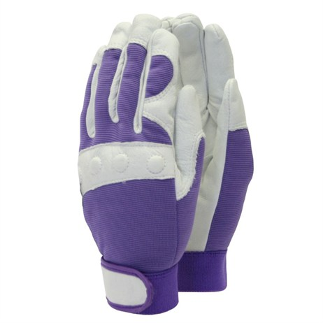 Town and Country Ladies Deluxe Comfort Fit Gloves - Purple - Small (TGL104S)