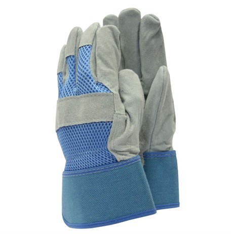 Town and Country Ladies Original All Rounder Rigger Gloves - Light Blue - Medium (TGL106M)