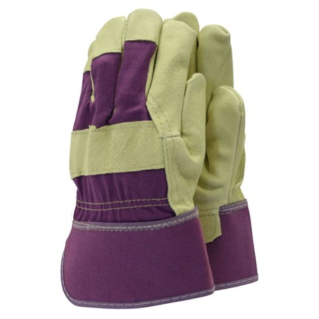 Town and Country Ladies Original Washable Leather Rigger Gloves (TGL111)