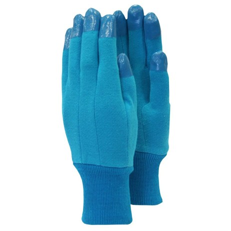 Town and Country Ladies Essentials Stretch Jersey Gloves - Blue (TGL203)