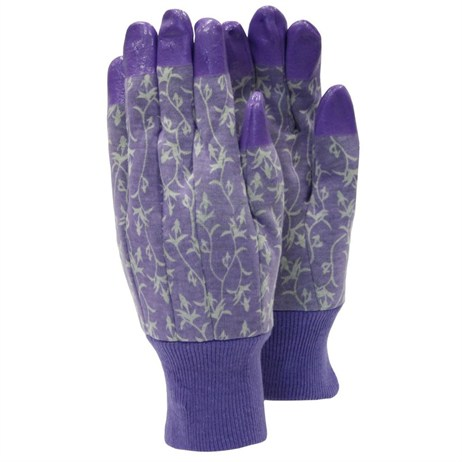 Town and Country Ladies Original Aquasure Jersey Gloves - Lavender (TGL207)