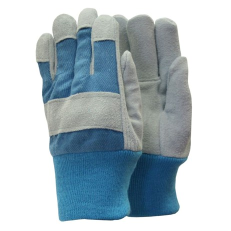 Town and Country Kids Heavy Duty Gloves - Blue (TGL304)