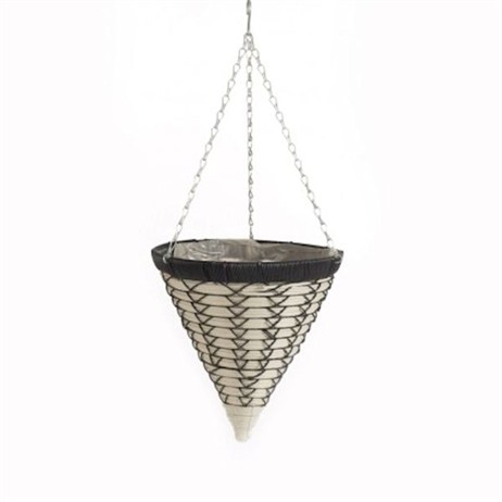 Triflora Luxury 14inch Hanging Basket Cone (BW00044)