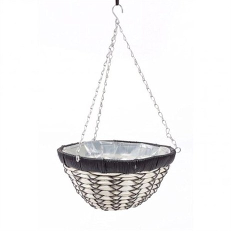Triflora Luxury 14inch Hanging Basket (BW00046)