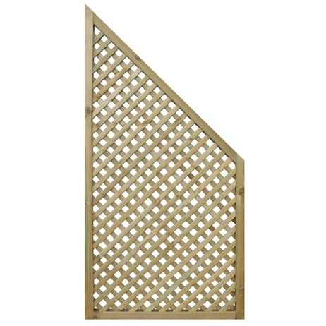 Zest 4 Leisure Privacy Diamond Trellis End Panel (2 Pack) (DIRECT DISPATCH)