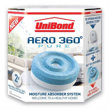 UniBond Aero 360 Humidity Absorber Refill (2 pack) (312620)