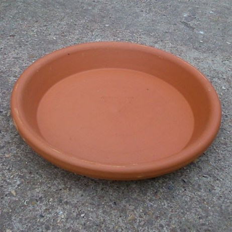 Unique Terracotta Saucer 13cm