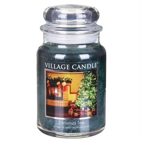Village Candles - Christmas Tree Premuim 26oz Christmas Candle (106326321)
