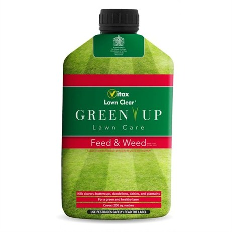 Vitax Green Up Lawn Care Feed & Weed 200 sqm (5FW1)