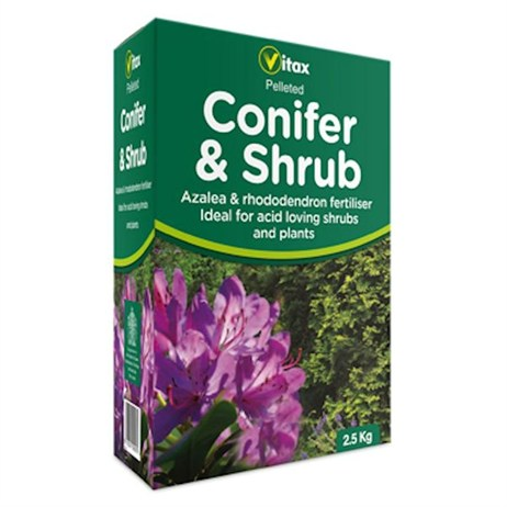 Vitax Conifer & Shrub Fertiliser 2.5kg (6CS25)