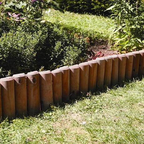 Log Roll Brown 15x183cm from Woodlands