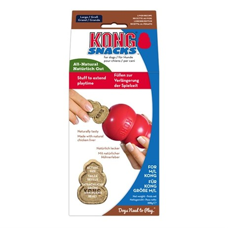 Kong Stuff n' Mini (200g) Liver Snaps for Dogs (XP3)