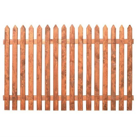 Zest 4 Leisure Old Picket Fence Panel 6 x 4ft