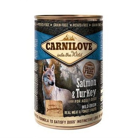 Carnilove Salmon & Turkey 400g Tinned Dog Food (512133)