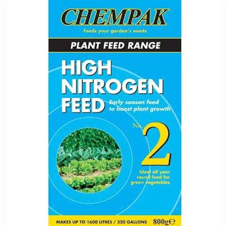 Chempak Formula 2 High Nitrogen Soluble Plant Food 800g