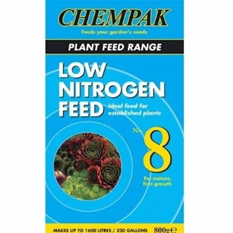 Chempak Formula 8 Low Nitrogen Soluble Plant Food 800g
