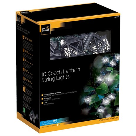 Gardman 10 Coach Light String Lights (L24307)