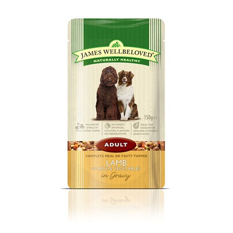 James Wellbeloved Pouches - Lamb Adult 150G (6955001)