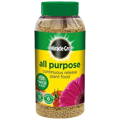 Miracle-gro Slow Release Plant Food 30% Free - 1kg (119451)