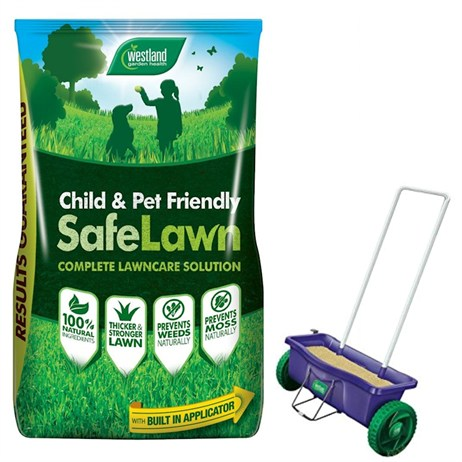 Promotion! Buy A Westalnd Safe Lawn  400m2 & Get A Spreader Half Price -ONLINE EXCLUSIVE