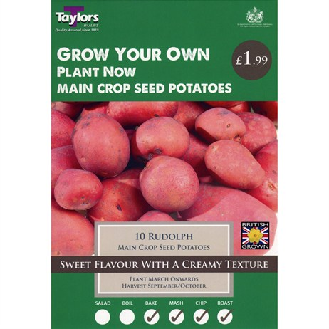 Taylors Bulbs Seed Potatoes Rudolph (10 Pack) (VP454)