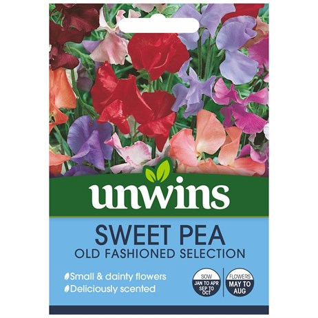 Unwins Seeds Sweet Pea Old Fashioned Mix (30210219)