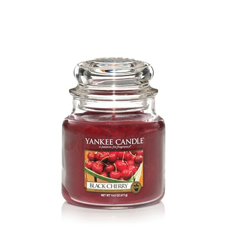 Yankee Candle Classic Medium Jar - Black Cherry (1129752E)