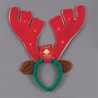 Premier Musical Light-Up Christmas Antlers - 40cm (AC04976)